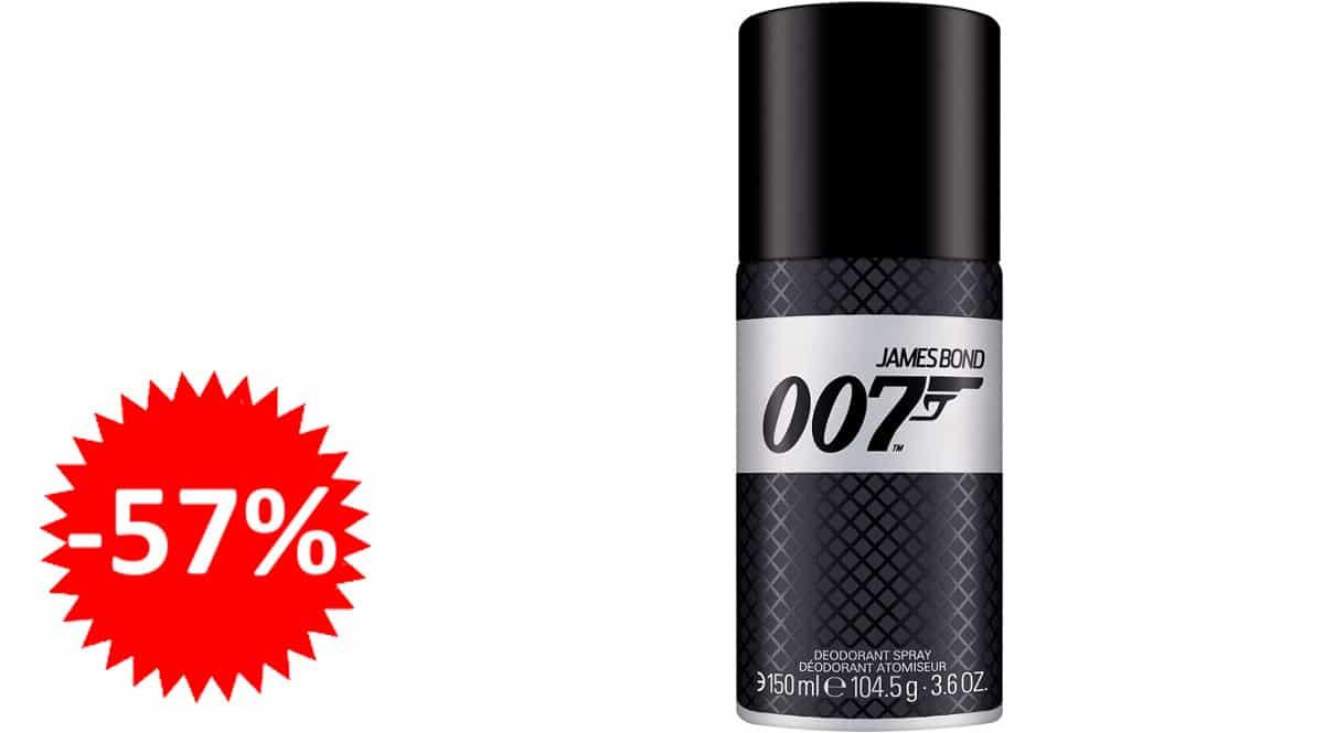 Desodorante 007 James Bond barato, desodorantes de marca baratos, ofertas supermercado, chollo