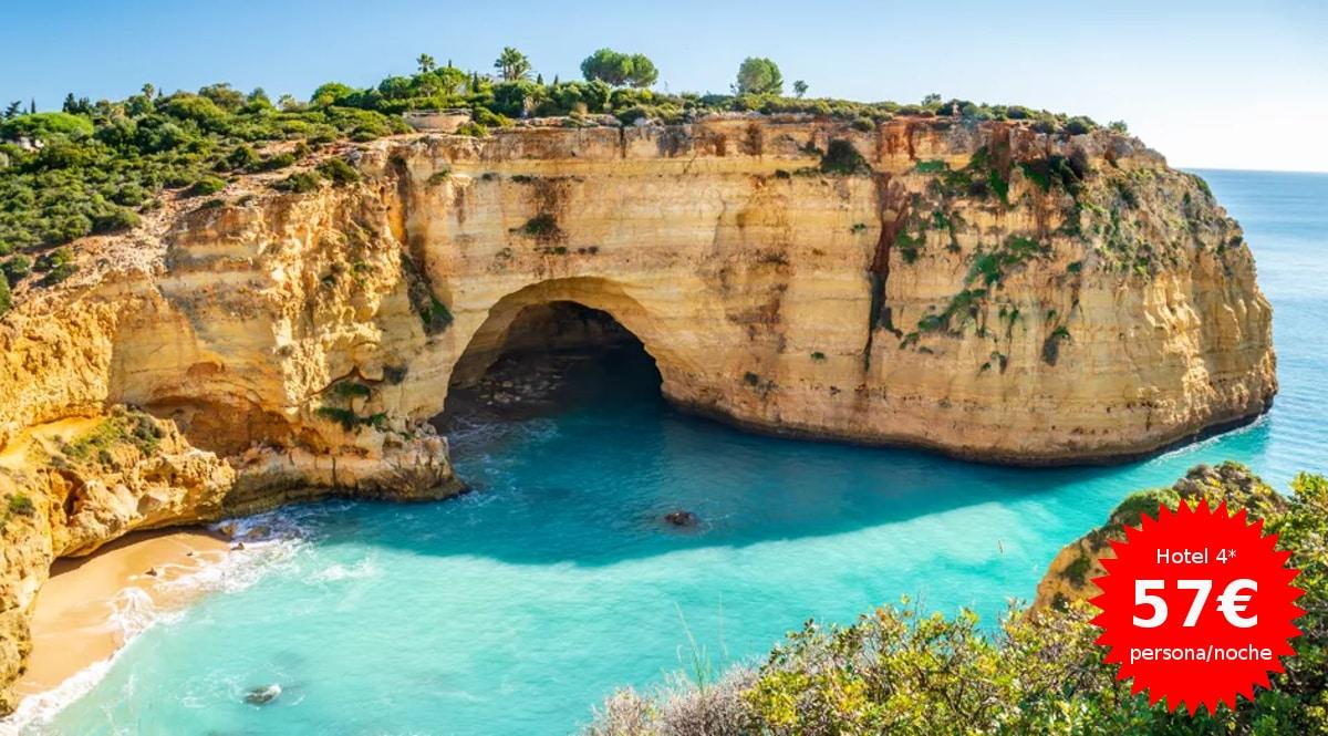 Escapada de lujo al Algarve, hoteler baratos, ofertas en viajes, chollo