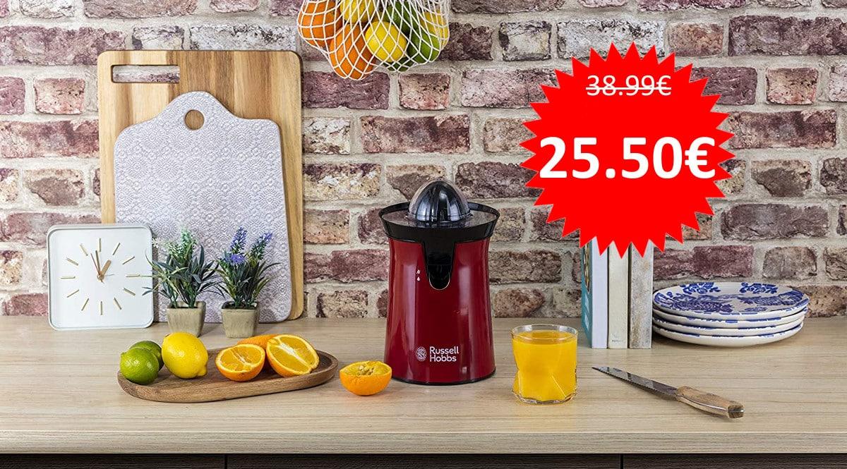 Exprimidor de zumo Russell Hobbs Colours Plus barato. Ofertas en electrodomésticos, electrodomésticos baratos, chollo