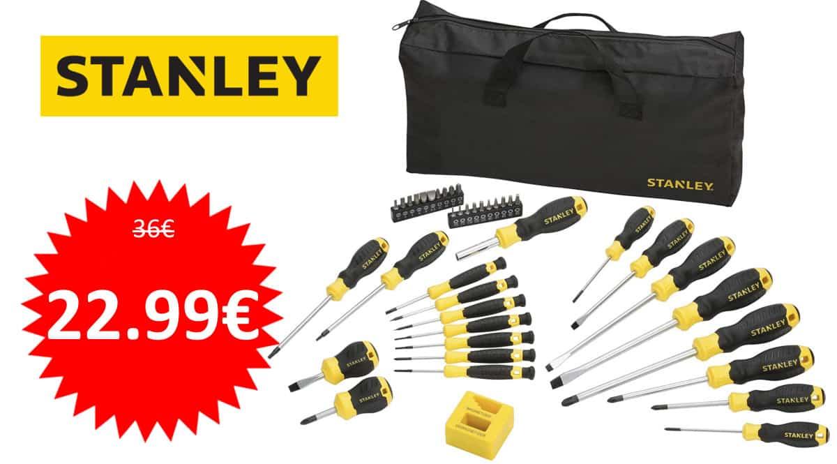 Juego de 42 piezas Stanley STHT0-62113 barato. Ofertas en herramientas, herramientas baratas, chollo