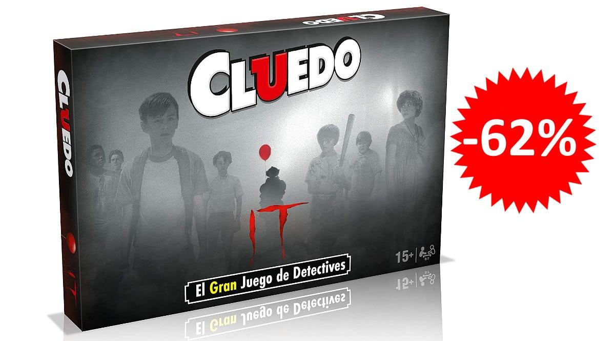 ¡¡Chollo!! Juego de mesa Cluedo It sólo 15.20 euros. 62% de descuento.