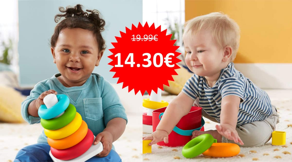 Juguete Fisher-Price Primeros Bloques barato. Ofertas en juguetes, juguetes baratos, chollo