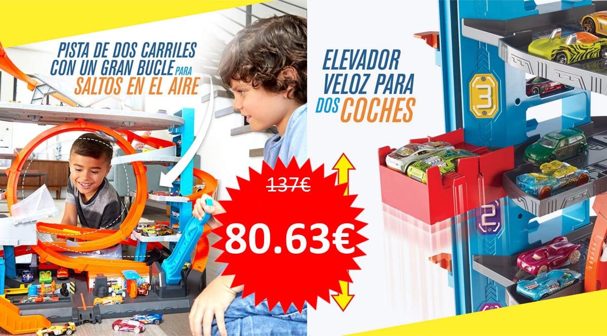 Juguete Megagaraje Hot Wheels barato. Ofertas en juguetes, juguetes baratos, chollo