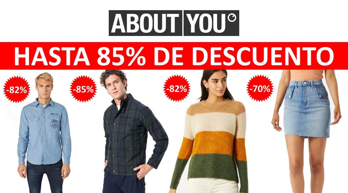 Locura en las rebajas de About You, ropa de marca barata, ofertas en ropa chollo