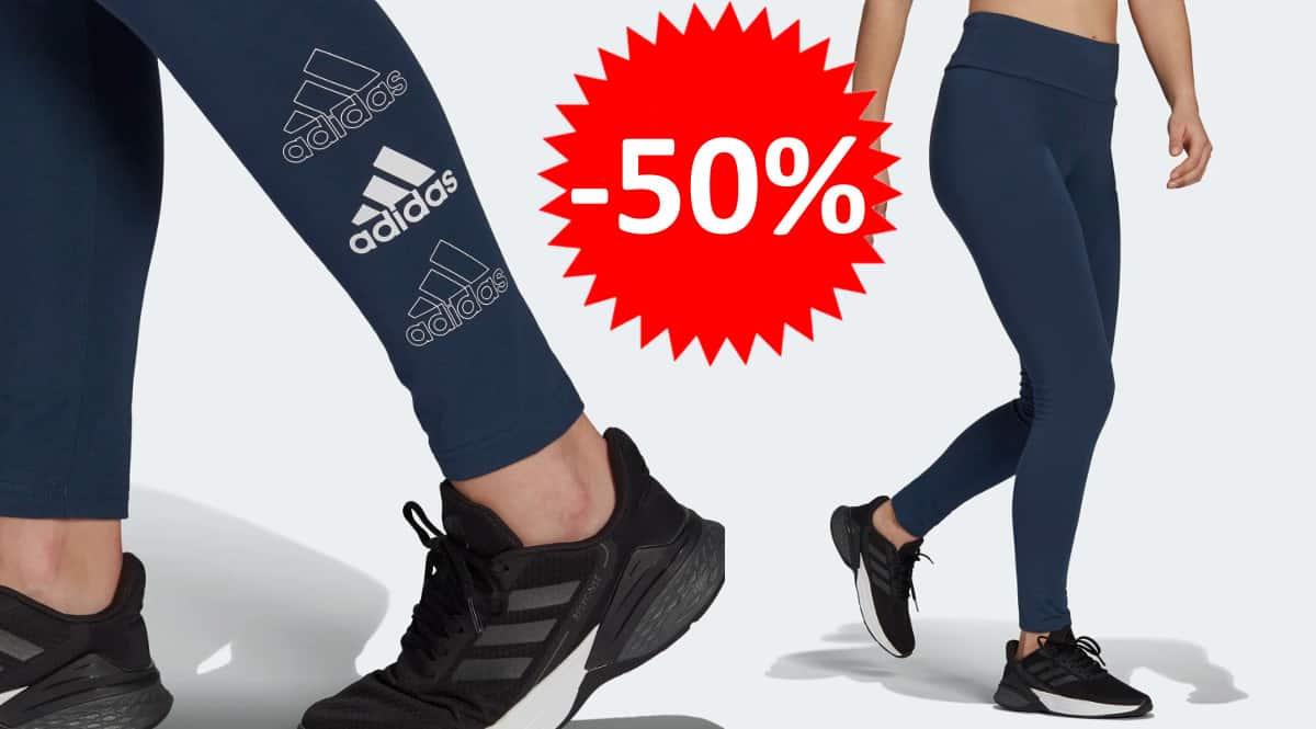 Mallas Adidas Essentials Stacked Logo para mujer baratas. Ofertas en ropa de marca, ropa de marca barata, chollo