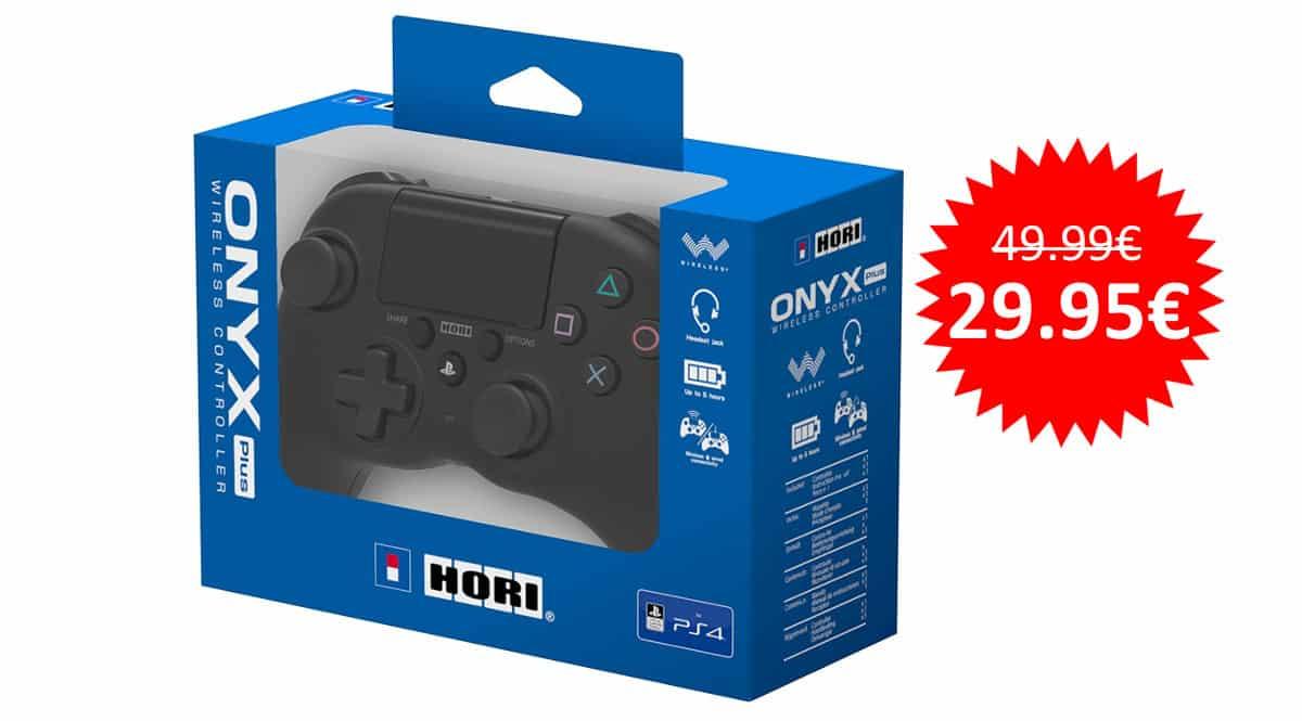 ¡¡Chollo!! Mando inalámbrico HORI Onyx Plus para PS4 y PC sólo 29.95 euros.