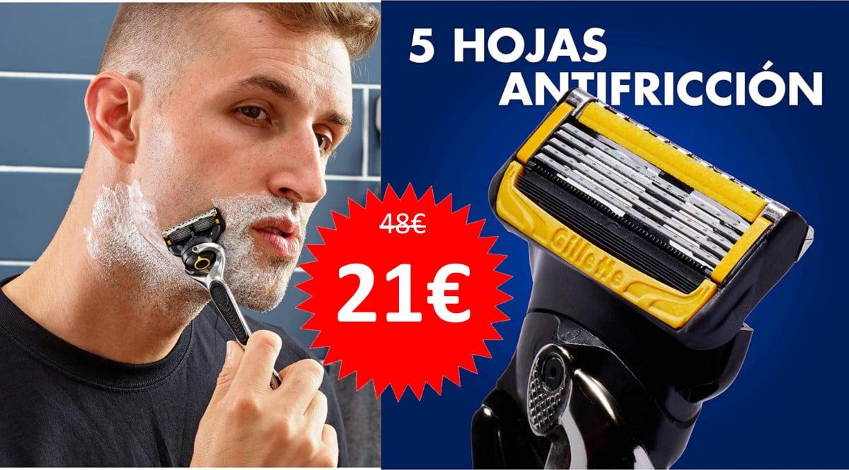 Maquinilla de afeitar Gillette ProShield barata, maquinillas baratas, ofertas para ti chollo