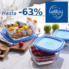 Menaje de cocina Duralex barato platos, vasos y tupers baratos, ofertas hogar