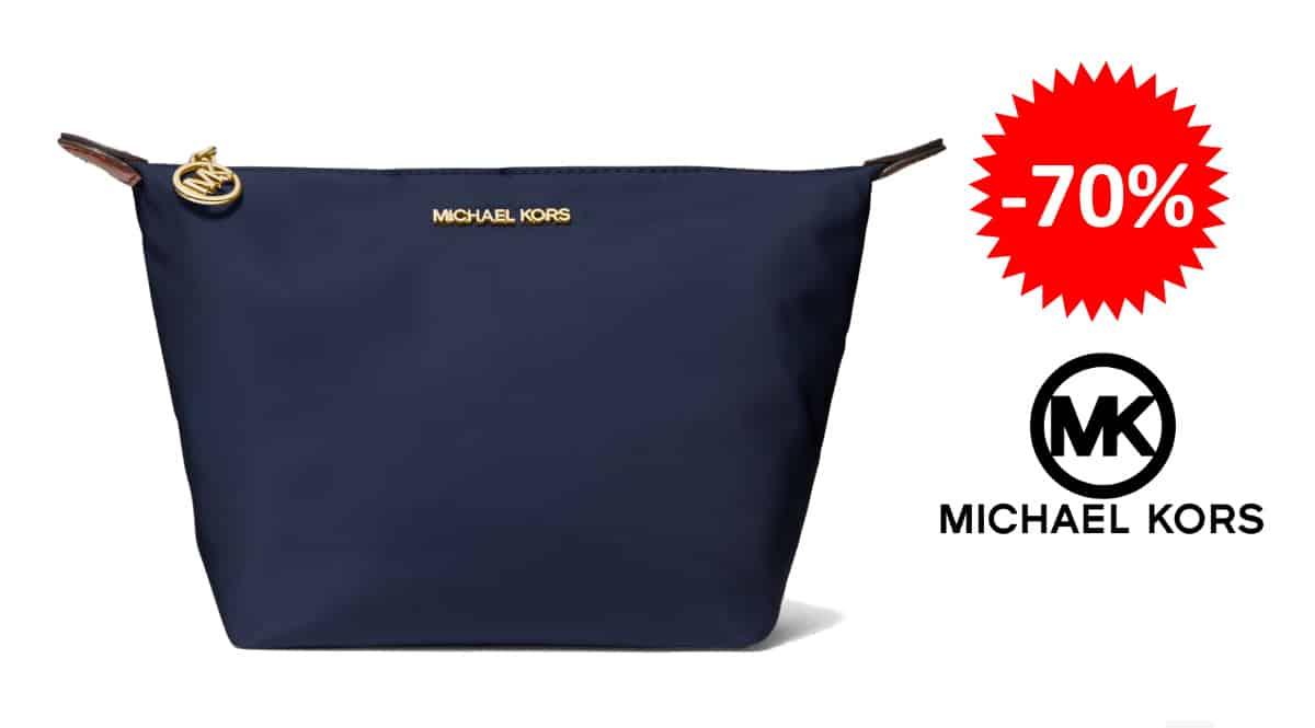 Neceser Michael Kors barato, bolsos de marca baratos, ofertas en complementos chollo