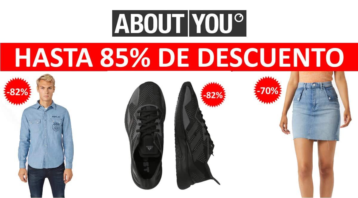 Ofertas en ropa y calzado en About You, ropa de marca barata, ofertas en calzado, chollo