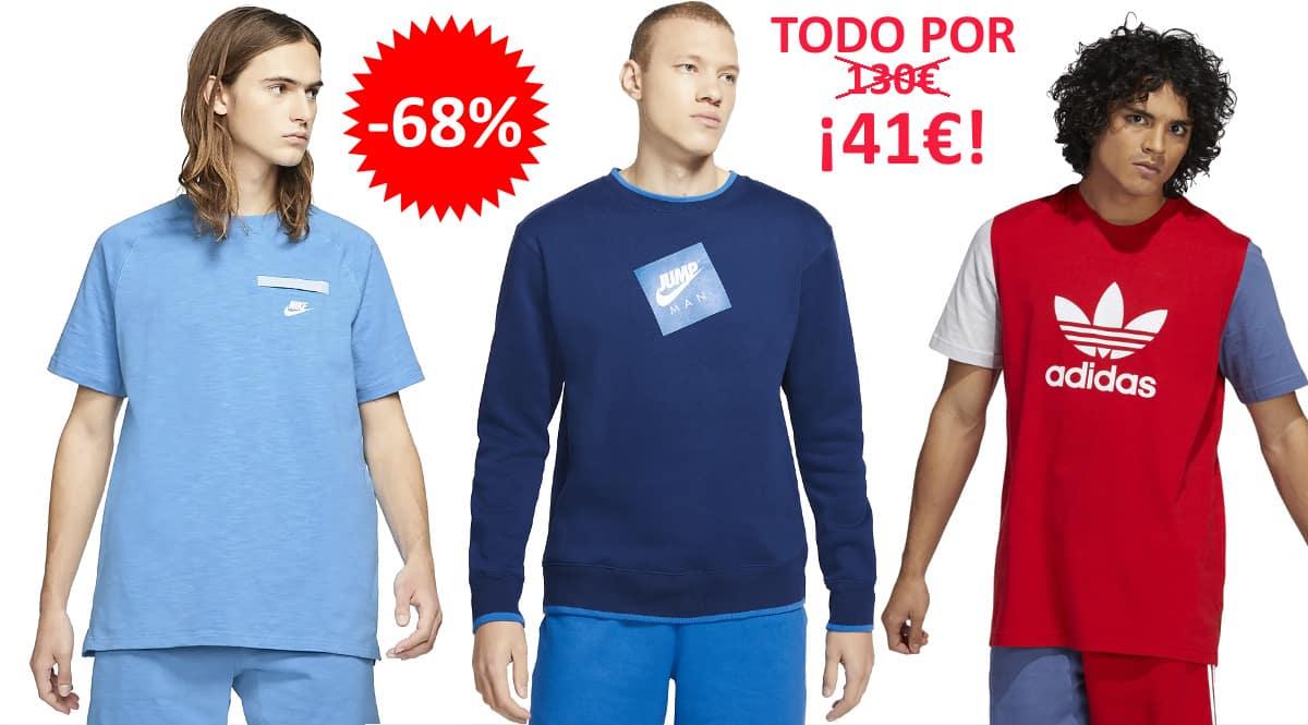 Pack de ropa Foot District hombre barata, ropa de marca barata, ofertas en ropa chollo