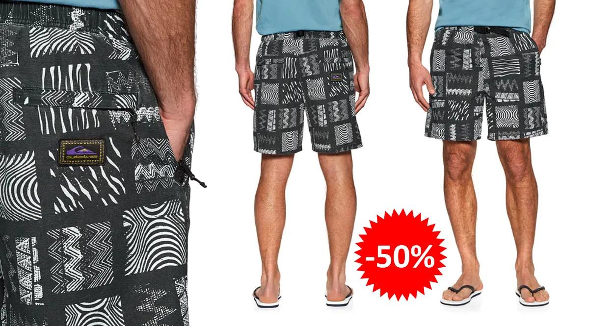 Pantalón corto Quiksilver Originals Tribal Mosaic barato, ropa de marca barata, ofertas en pantalones chollo