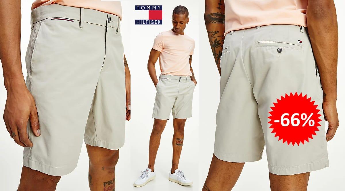 Pantalón corto Tommy Hilfiger Brooklyn barato, ropa de marca barata, ofertas en pantalones chollo