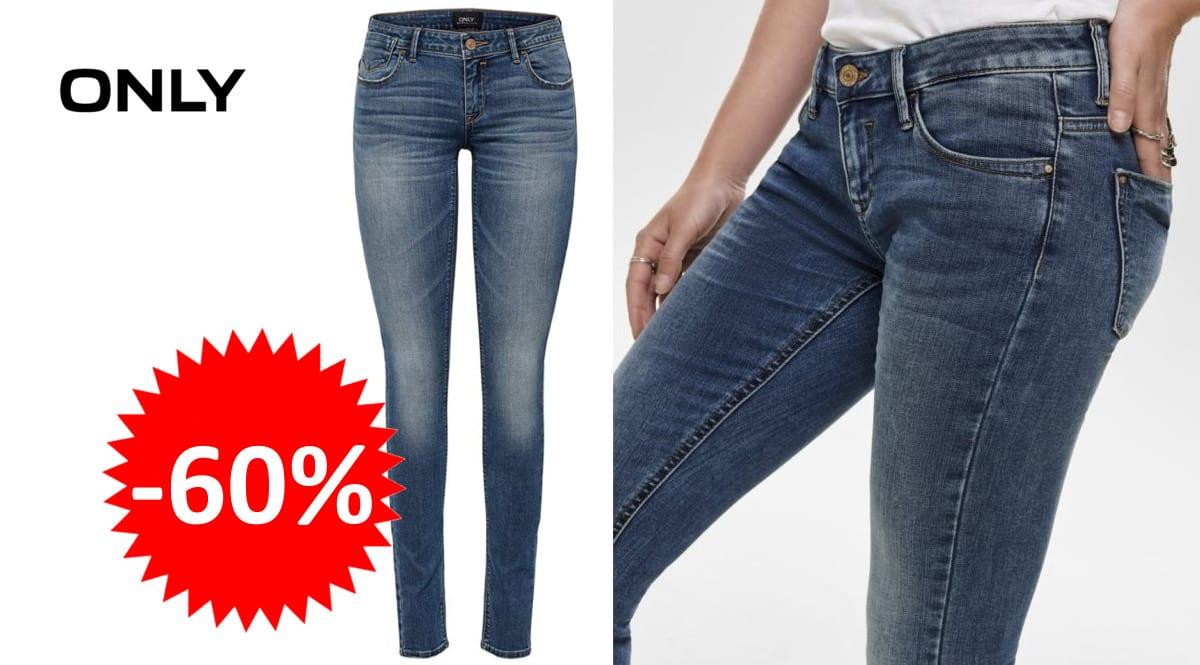 Pantalones vaqueros Only Coral Super Low barato. Ofertas en ropa de marca, ropa de marca barata,chollo