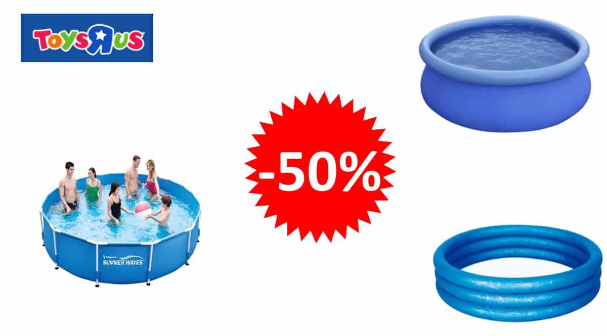 Piscinas y juguetes baratos, piscinas hinchables baratas, ofertas para niños, chollo