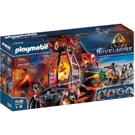 ¡Precio mínimo histórico! Playmobil Novelmore Mina de Lava de los Bandidos de Burnham sólo 26 euros.
