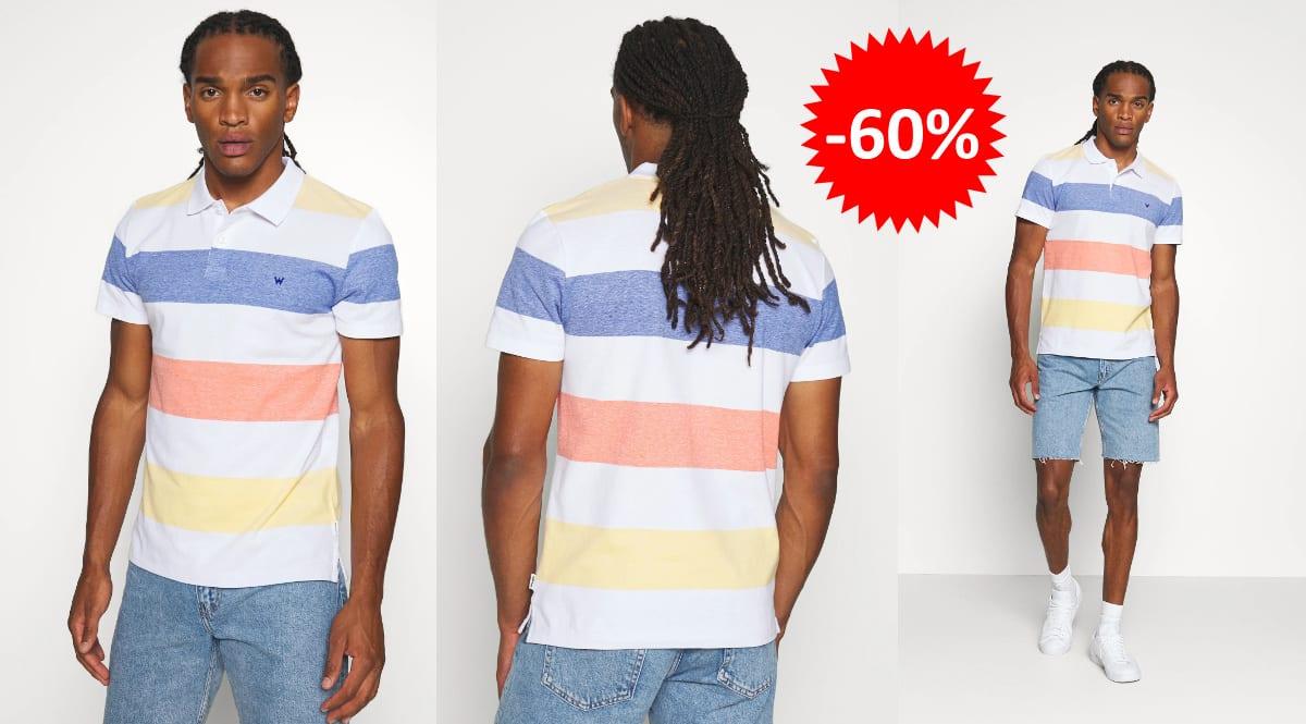 Polo Wrangler Stripe barato, ropa de marca barata, ofertas en camisetas chollo