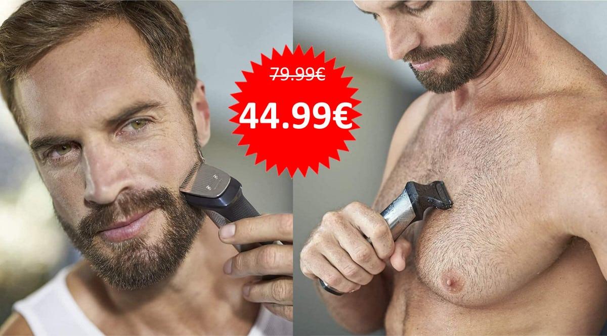 Recortadora Philips MG7745-15 barata. Ofertas en afeitadoras, afeitadoras baratas, chollo