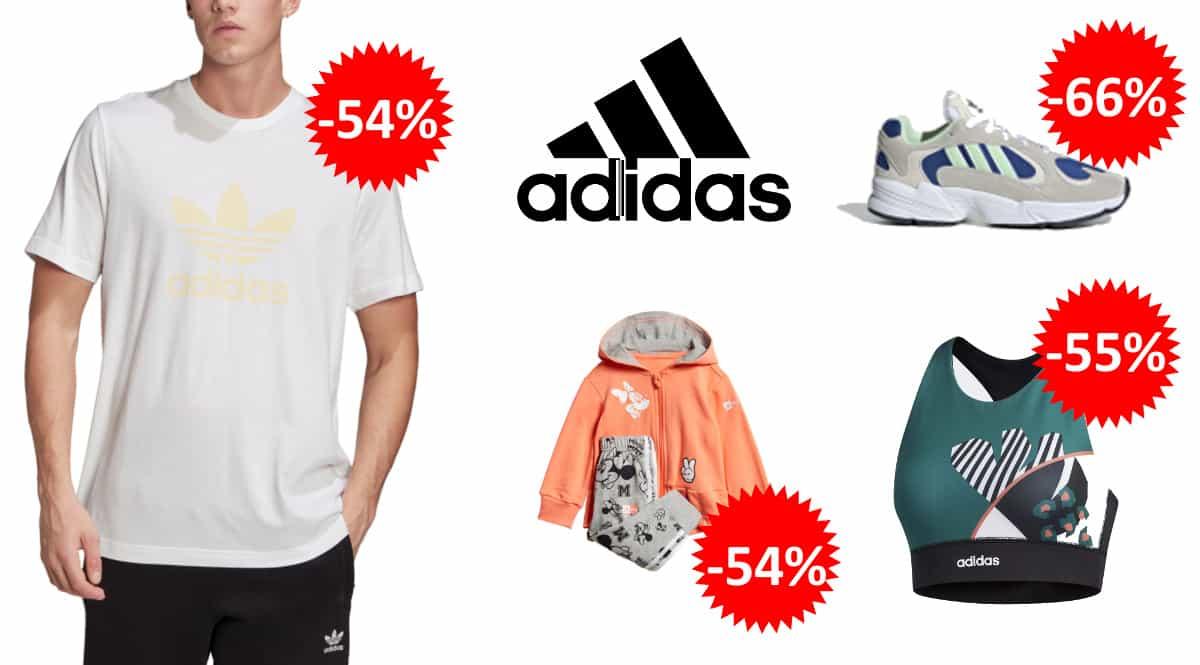 Ropa y calzado Adidas barato para niño y adulto, zapatillas de marca baratas, ofertas en ropa, chjollo