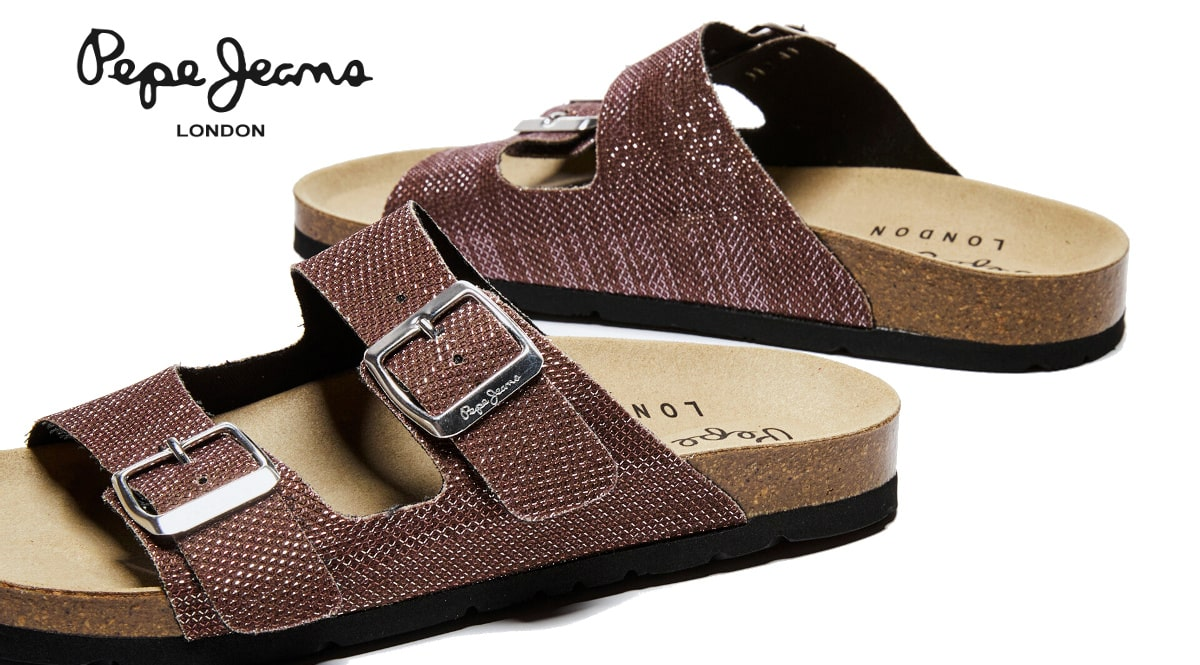 Sandalias Pepe Jeans Oban Mesh baratas, calzado de marca barato, ofertas en sandalias chollo