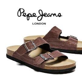 Sandalias Pepe Jeans Oban Mesh baratas, calzado de marca barato, ofertas en sandalias