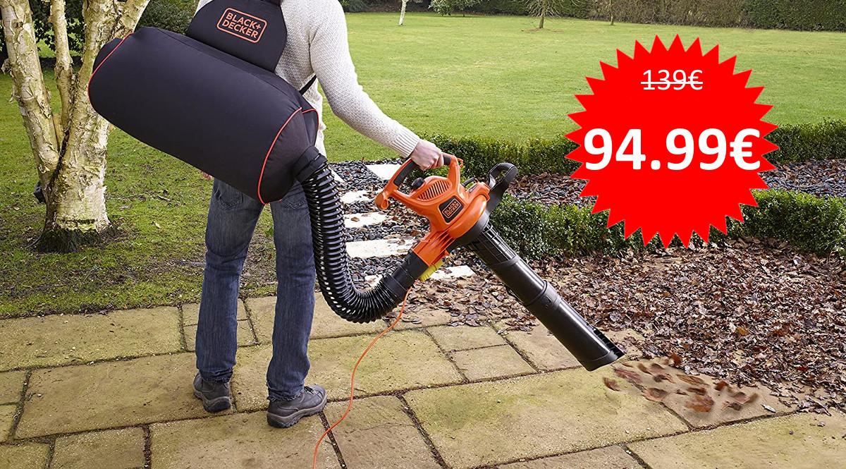 Soplador de hojas Black+Decker GW3031BP barato. Ofertas en herramientas, herramientas baratas, chollo