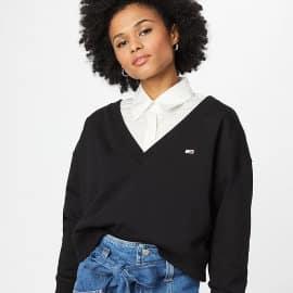 Sudadera Tommy Jeans Cropped barata, ropa de marca barata, ofertas en sudaderas