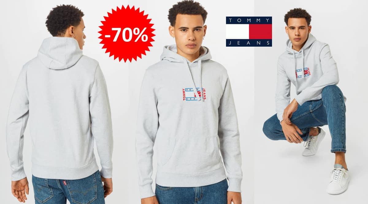 Sudadera Tommy Jeans Timeless barata, ropa de marca barata, ofertas en sudaderas chollo