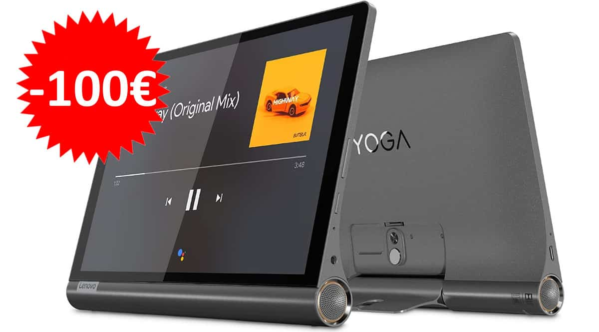 Tablet Lenovo Yoga Smart Tab 10 LTE barata. Ofertas en tablets, tablets baratas, chollo