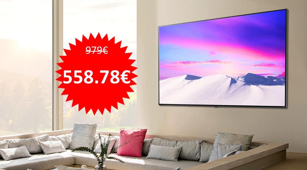 Televisor LG 55NANO816PA barato. Ofertas en televisores, televisores baratos, chollo