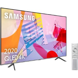 ¡Precio mínimo histórico! Televisor de 65″ Samsung 65Q64T QLED 4K 2020 sólo 799 euros. Te ahorras 499 euros.
