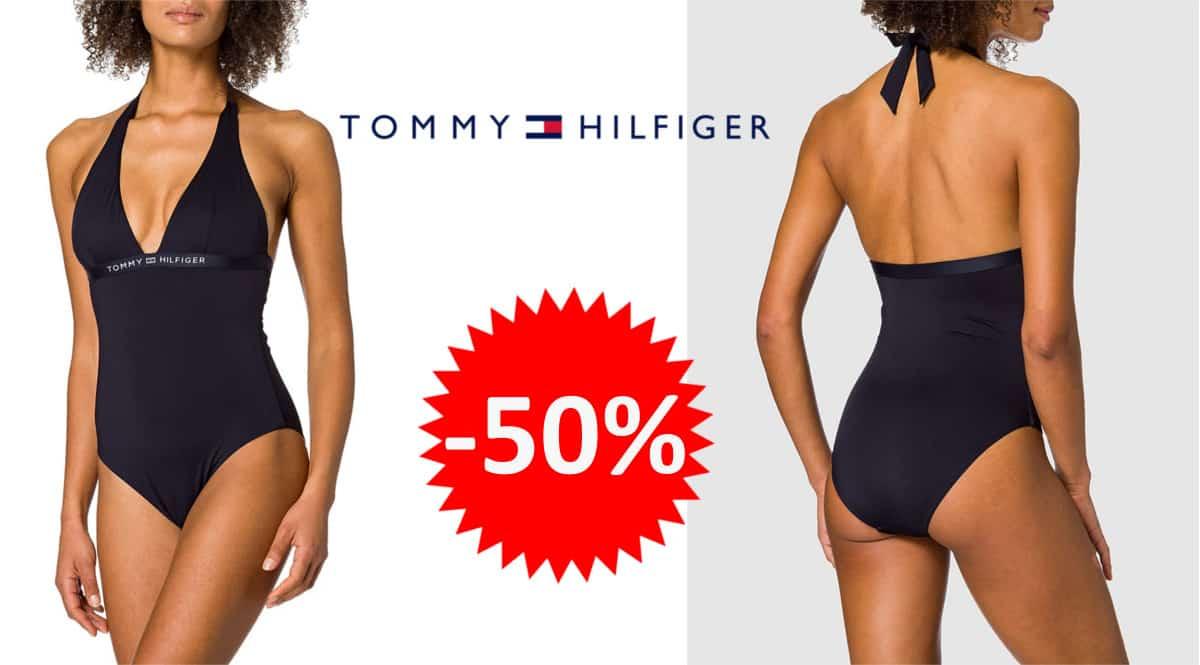 Traje de baño Tommy Hilfiger Halter barato. Ofertas en ropa de marca, ropa de marca barata, chollo