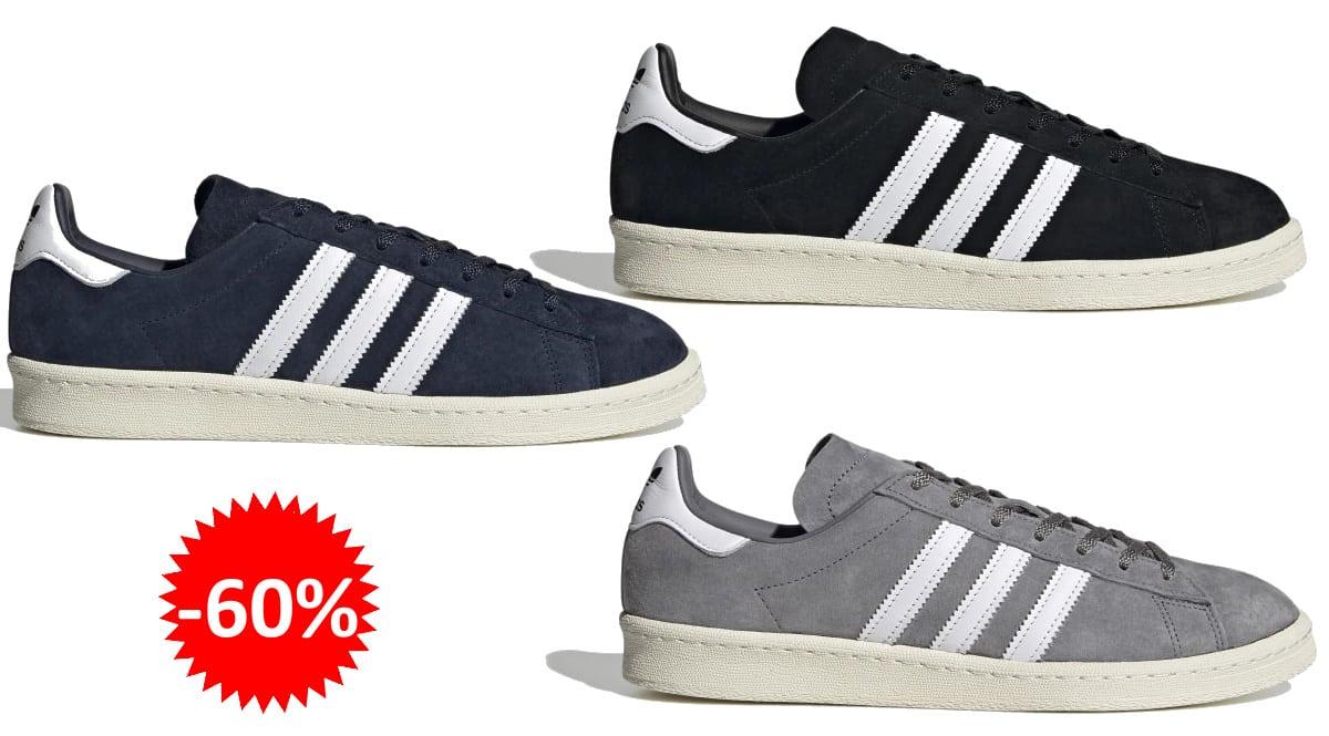 Zapatillas Adidas Campus 80s baratas, zapatillas de marca baratas, ofertas en calzado, chollo