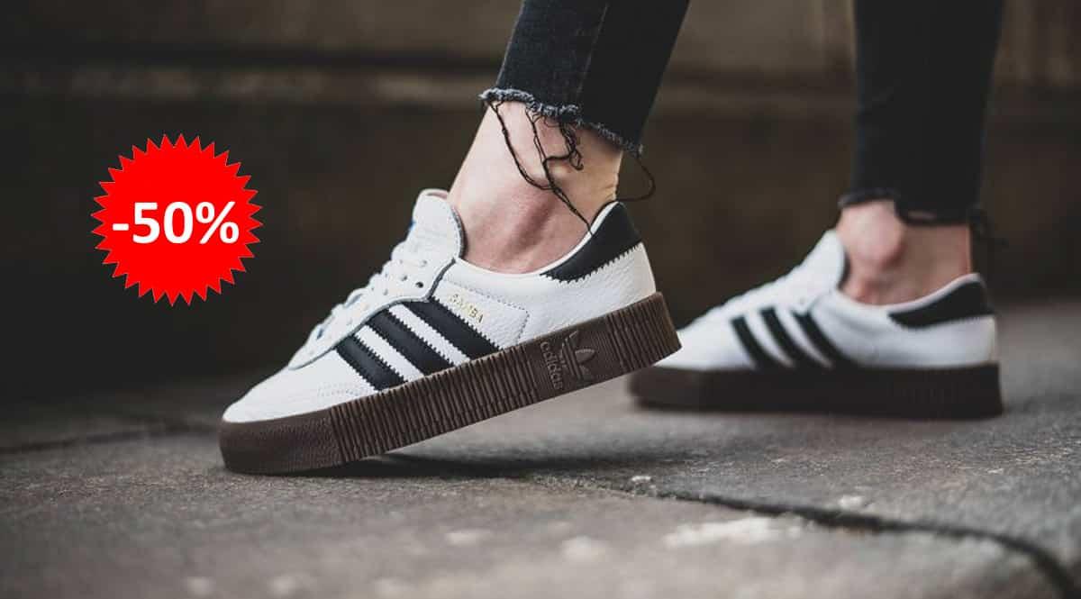 Zapatillas Adidas Sambarose baratas, calzado de marca barato, ofertas en zapatillas chollo