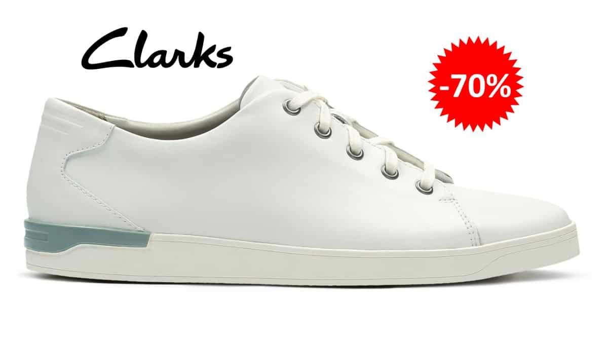 Zapatillas Clarks Stanway Lace baratas, calzado de marca barato, ofertas en zapatillas chollo
