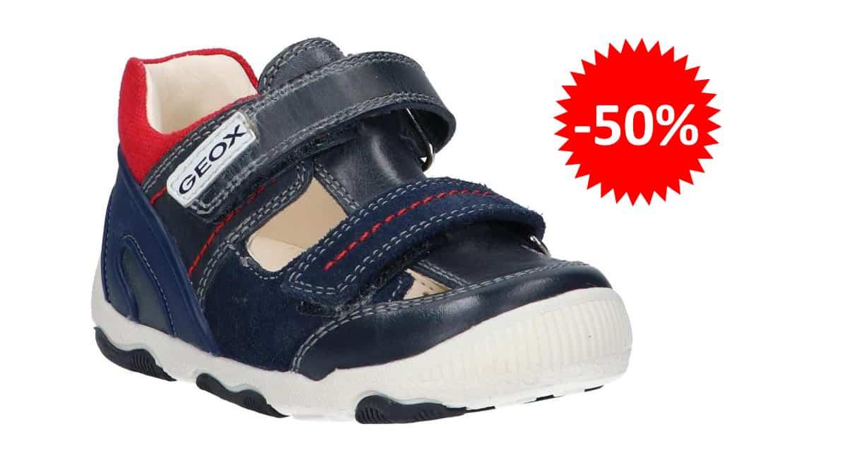 Zapatillas Geox New Balu para niños baratas, calzado de marca barato, ofertas para niños chollo