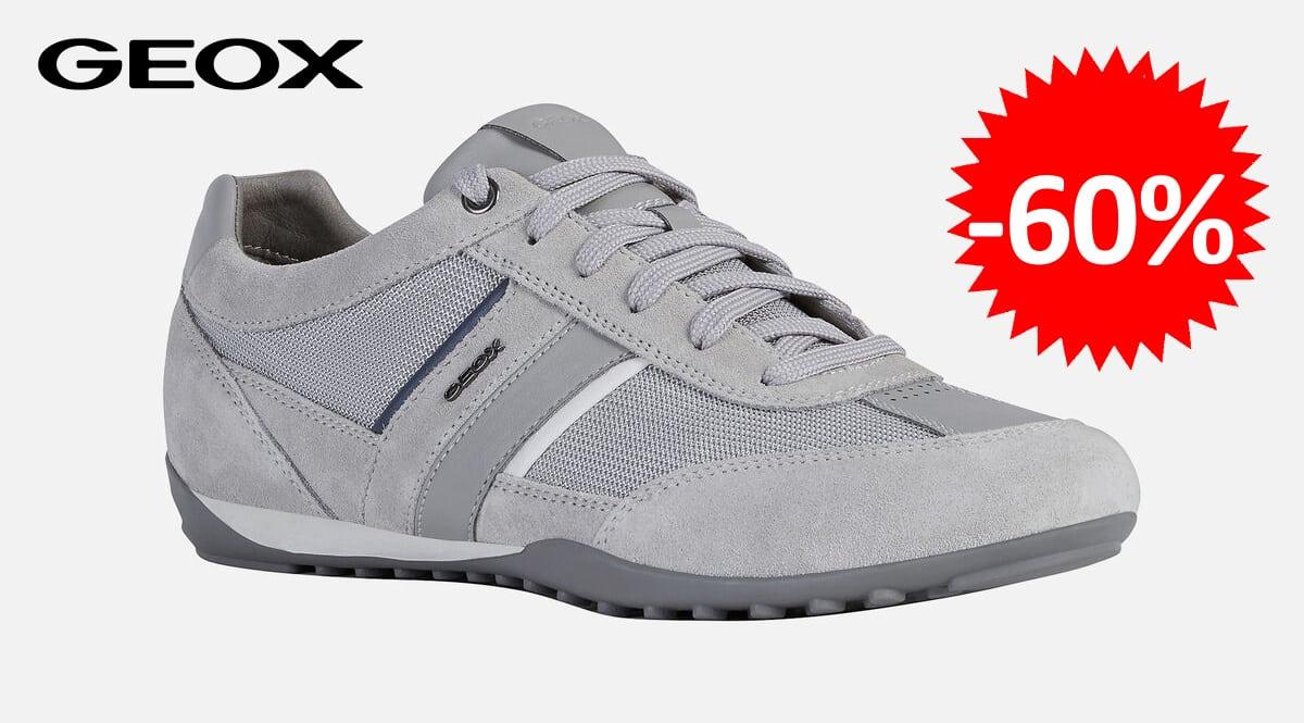 Zapatillas Geox U Wells C baratas, zapatillas de marca baratas, ofertas calzado, chollo
