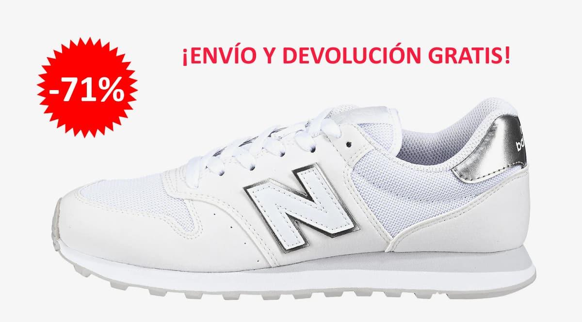 Zapatillas New Balance 500 baratas, calzado de marca barato, ofertas en zapatillas chollo
