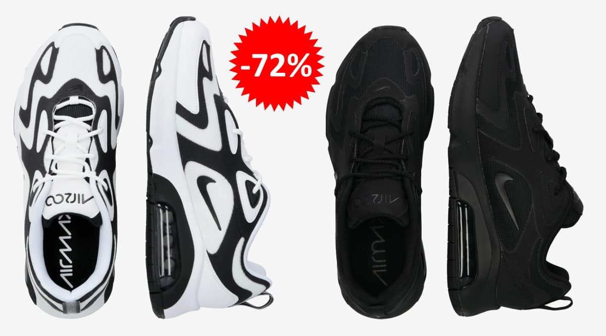 Zapatillas Nike Air Max 200 baratas, calzado de marca barato, ofertas en zapatillas chollo