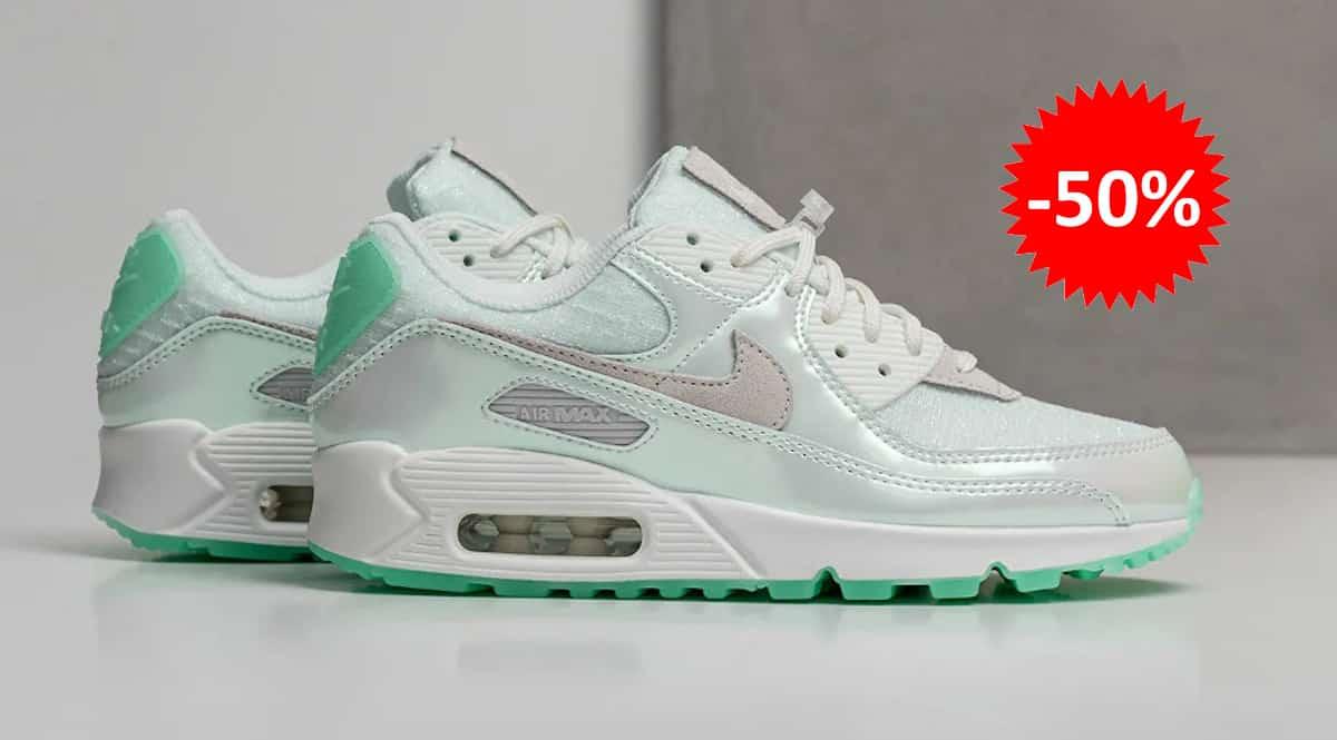 Zapatillas Nike Air Max 90 para mujer baratas, calzado de marca barato, ofertas en zapatillas chollo