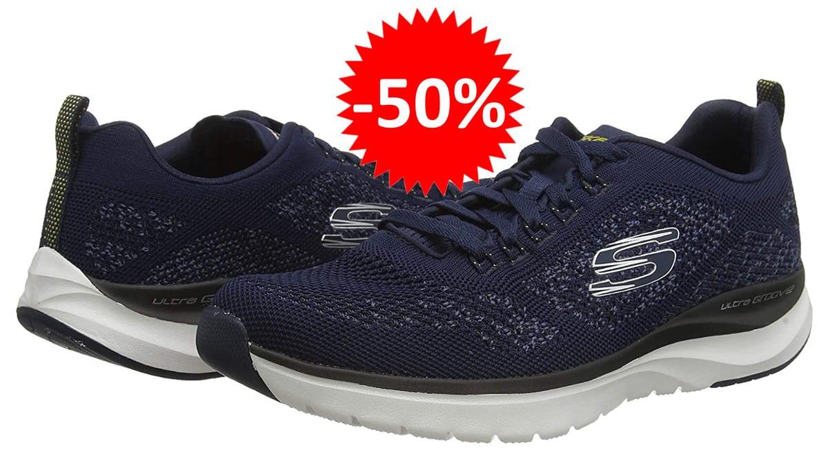 Zapatillas Skechers Ultra Groove baratas. Ofertas en zapatillas, zapatillas baratas, chollo