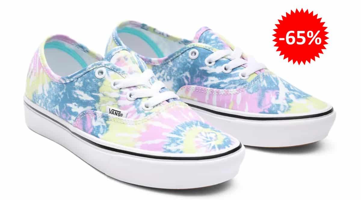 Zapatillas Vans ComfyCush Authentic baratas, calzado de marca barato, ofertas en zapatillas chollo