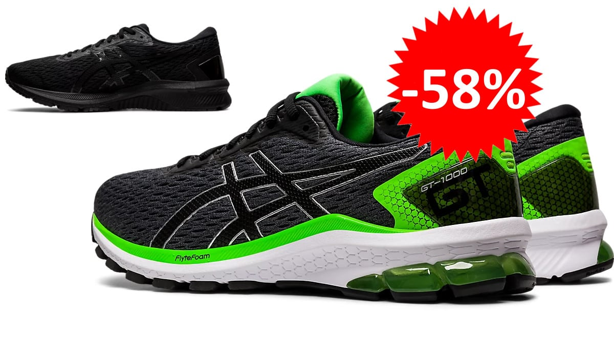 Zapatillas de running Asics GT-1000 9 baratas. Ofertas en zapatillas de running, zapatillas de running baratas, chollo