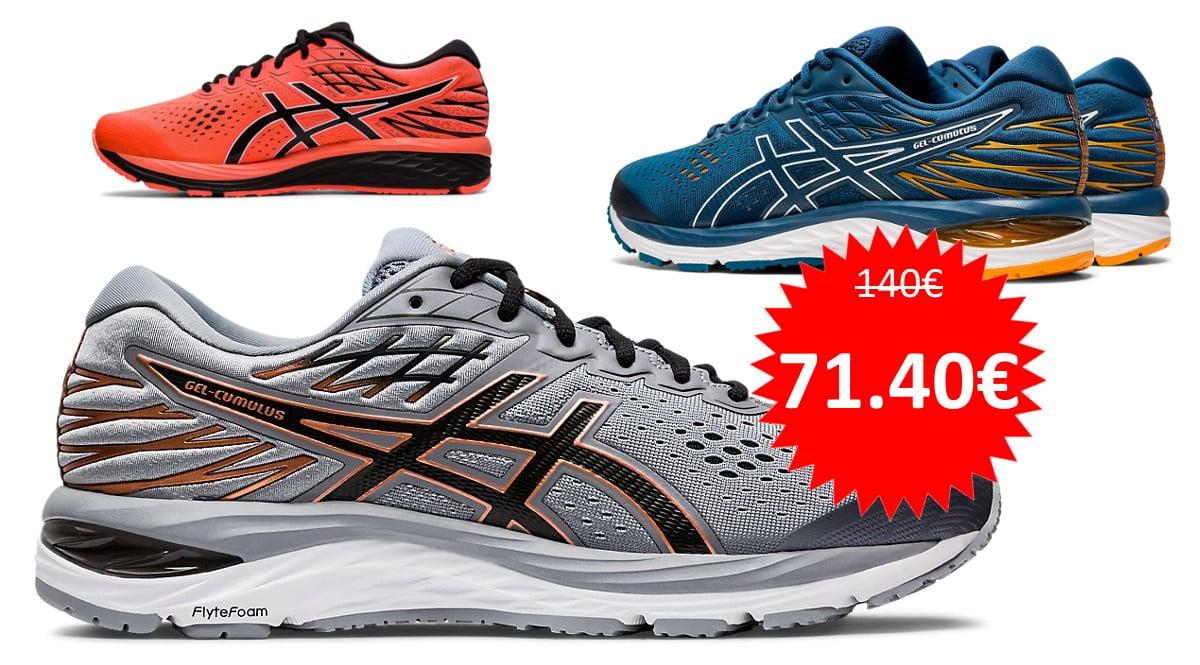 Zapatillas de running Asics Gel-Cumulus 21 baratas. Ofertas en zapatillas de running, zapatillas de running baratas, chollo