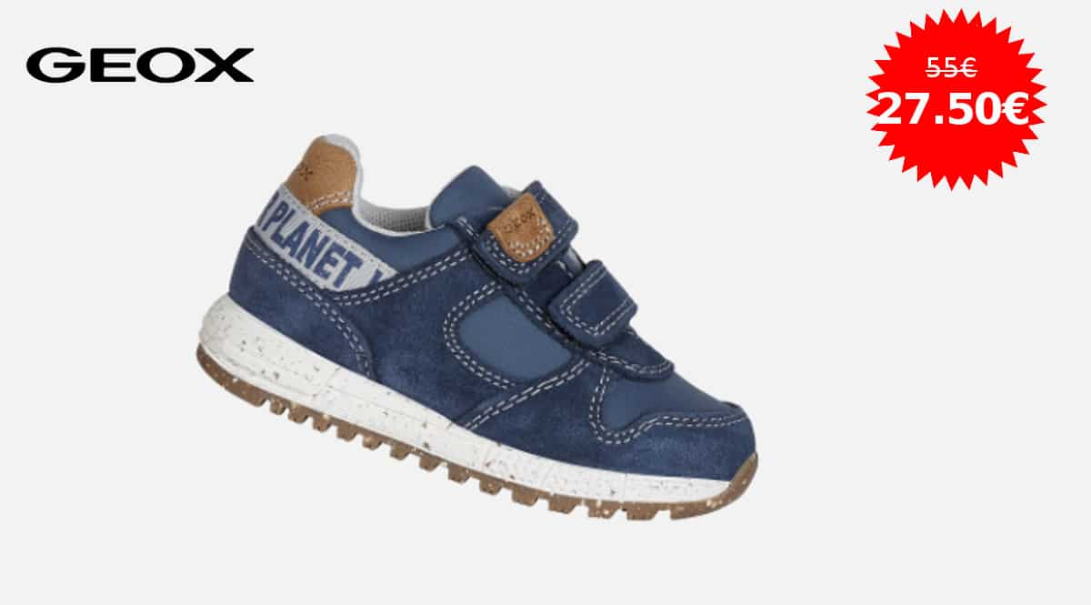 Zapatillas para niño Geox B Alben Boy B baratas, zapatillas para niño de marca baratas, ofertas calzado, chollo