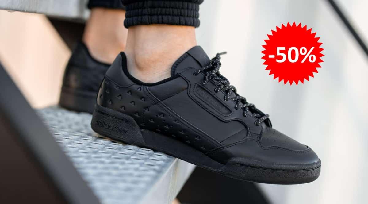 Zapatillas unisex Adidas Continental 80 x Pharrell Williams baratas, calzado de marca barato, ofertas en zapatillas chollo