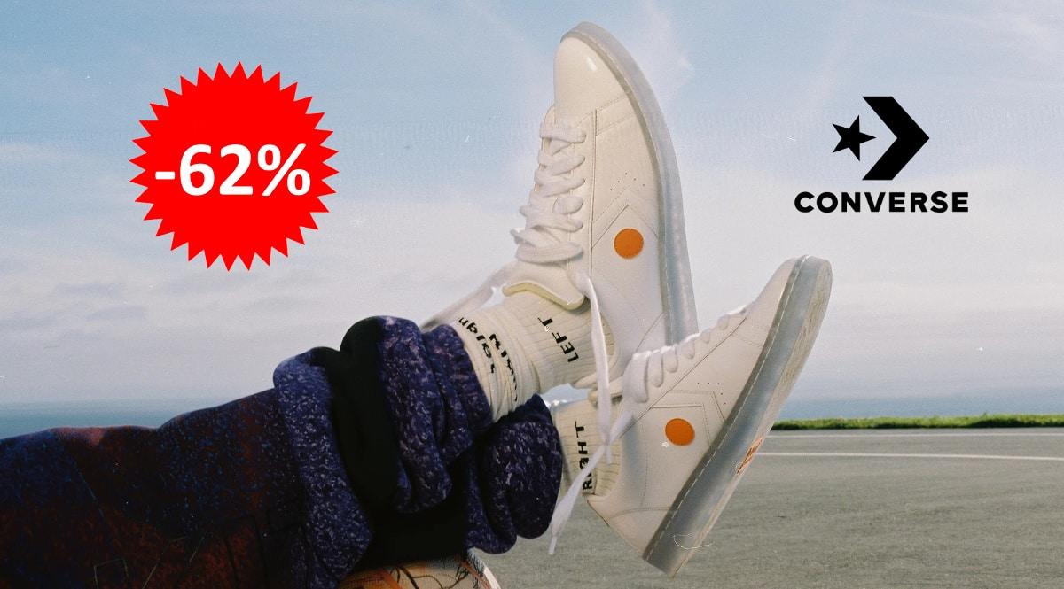 Zapatillas unisex Converse x ROKIT Pro Leather baratas, calzado de marca barato, ofertase en zapatillas chollo