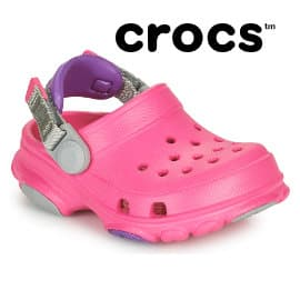 Zuecos para niña Crocs Classic All Terrain Clog baratos, zuecos de marca baratos, ofertas en calzado para niños