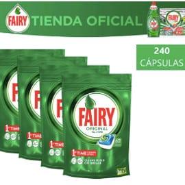 ¡¡Chollo!! 240 cápsulas de lavavajillas Fairy Original Cápsulas Todo en 1 sólo 26.99 euros. 50% de descuento.