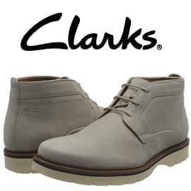 Botas Clarks Bayhill baratas, botines de marca baratos, ofertas en calzado